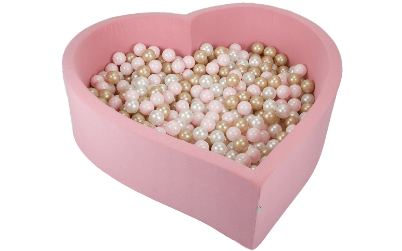 Heart, a ball pit to fall in love with!