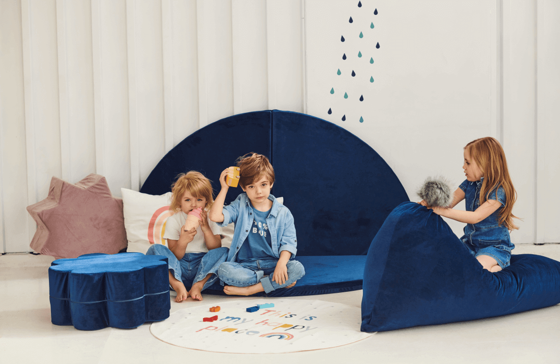 Types of pouffes for children