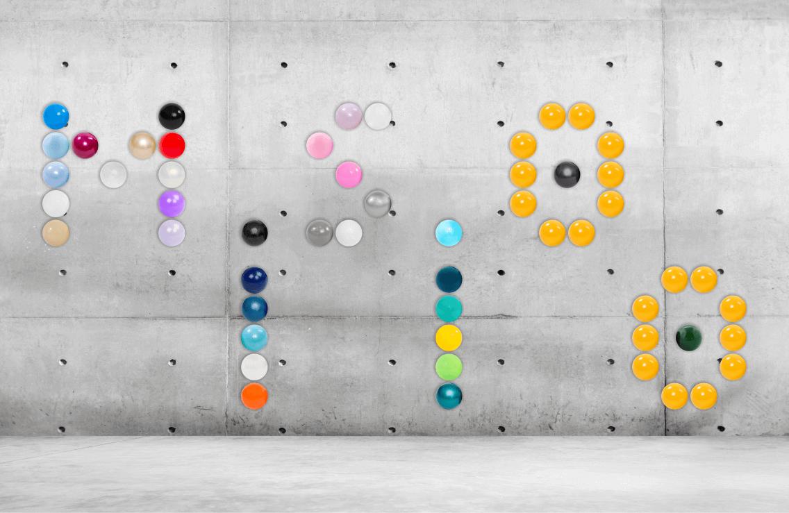 Balls – 50 pcs., Gold